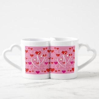 Jovial Hearts Coffee Mug Set