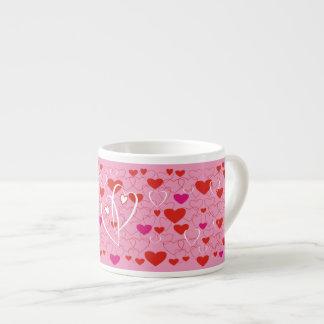 Jovial Hearts Espresso Cup