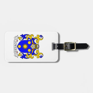 Jowers Coat of Arms Tag For Luggage