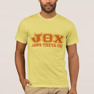 JOX - JI de la THETA de los MANDÍBULAS - logotipo Playera