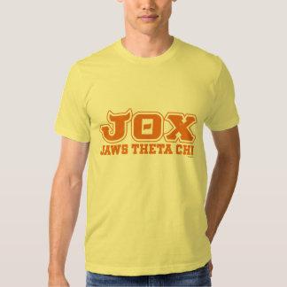 JOX - JI de la THETA de los MANDÍBULAS - logotipo Playeras
