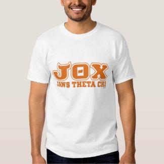 JOX - JI de la THETA de los MANDÍBULAS - logotipo Polera