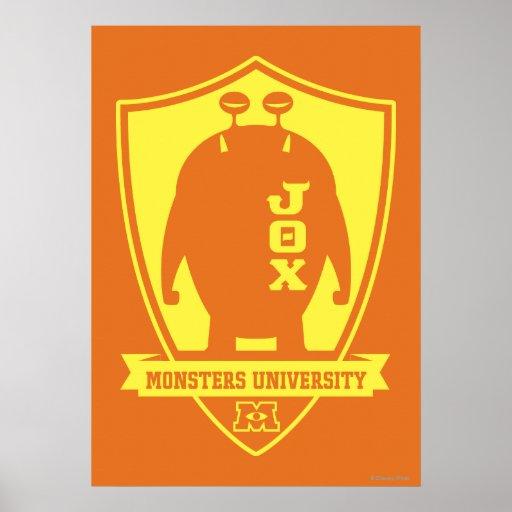 JOX - Universidad de los monstruos Poster