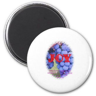 Joy 2 Inch Round Magnet
