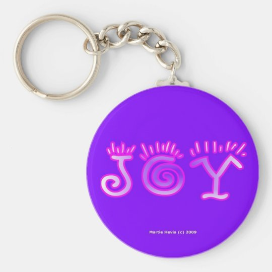 Joy (4a) Keychain