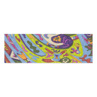 Joy, abstract business cards
