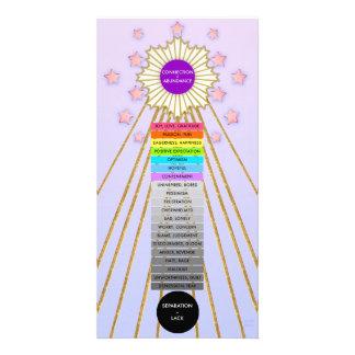 JOY & ABUNDANCE LADDER CARD by Hoshi Hana