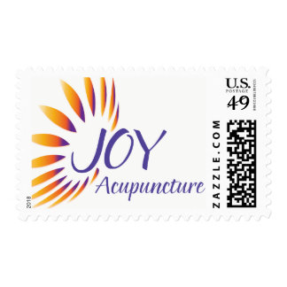Joy Acupuncture Postage Stamps