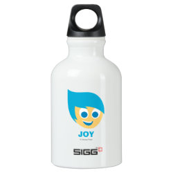SIGG Traveller Water Bottle (0.6L) with Cute Cartoon Joy from Inside Out design
