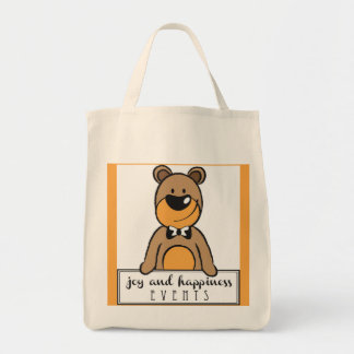 Joy and Happiness Grocery Tote