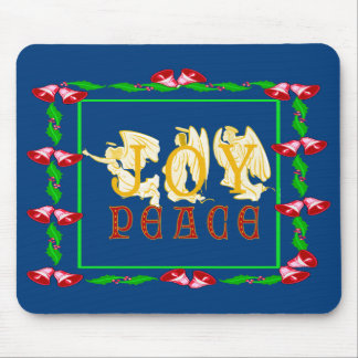Joy and Peace Mouse pad