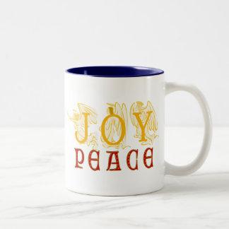 Joy And Peace Mug