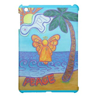 Joy and Peace Palm Beach Angel iPad Case