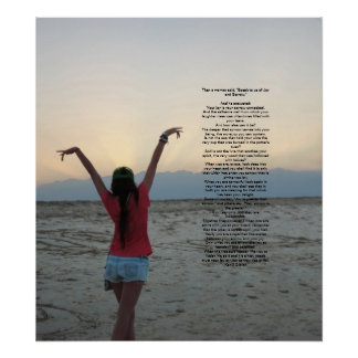 Joy and Sorrow by Kahlil Gibran Print