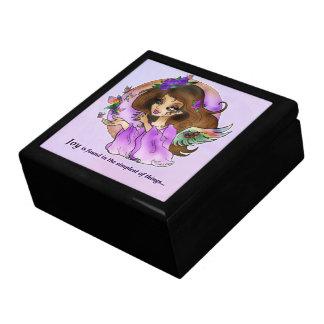 """""""JOY"""" Angel Gift Box DORFEO Art"""