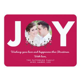 JOY Berry   Holiday Photo Card Invitations