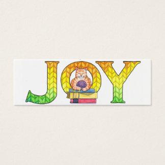 Joy Bookmarks (set of 20) Mini Business Card