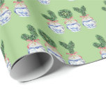 Joy Boxwood Topiary by Redux121DesignStudio Wrapping Paper