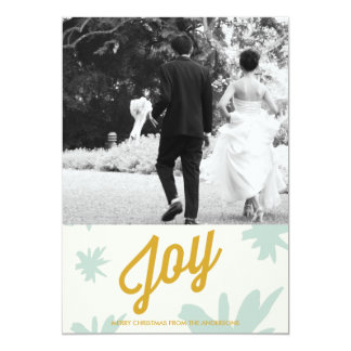 Joy Burst Holiday Greeting Card