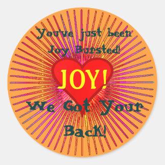 JOY BURST Stickers