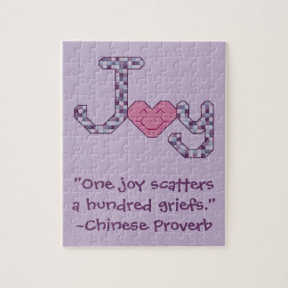 Joy Chinese Proverb Puzzle
