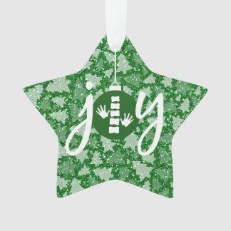 JOY Chiropractic/Chiropractor Christmas Ornament