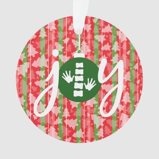 JOY Chiropractic/Chiropractor Christmas Ornament | Zazzle.com