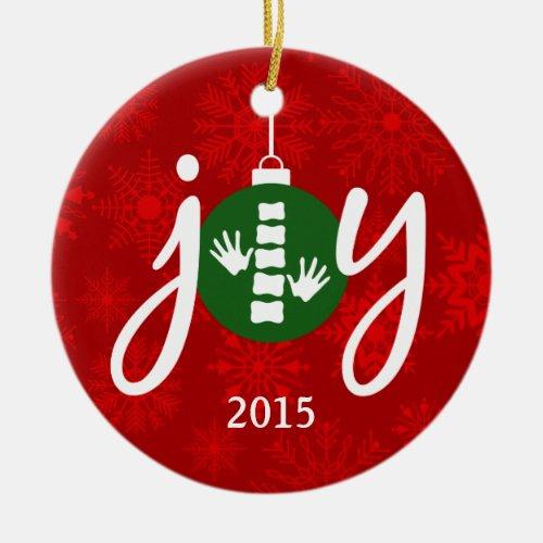 JOY Chiropractic / Chiropractor Ornament