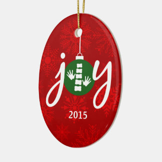 JOY Chiropractic / Chiropractor Oval Ornament