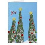 """""""Joy"""" Christmas Card"""