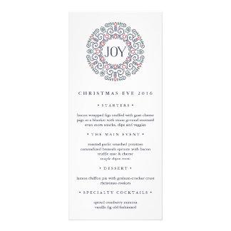Joy | Christmas Eve Dinner Menu
