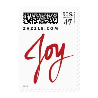 JOY Christmas Holiday Postage