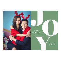 JOY Christmas Photo Cards / Holidays