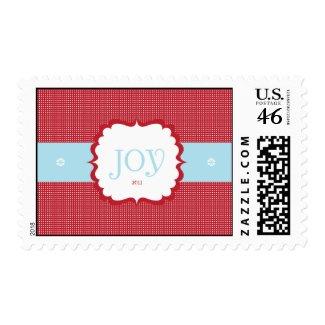 Joy Christmas Postage stamp