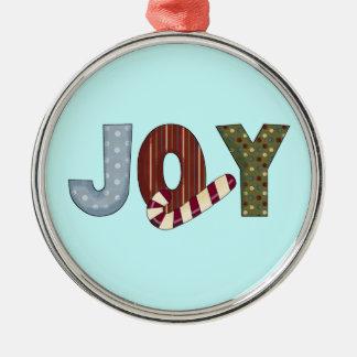 Joy Christms Orinament Metal Ornament