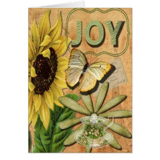 Joy Collage Season's Greetings Greeting Card
