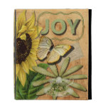 Joy Collage, Vintage Eiffel Tower and Butterfly iPad Cases
