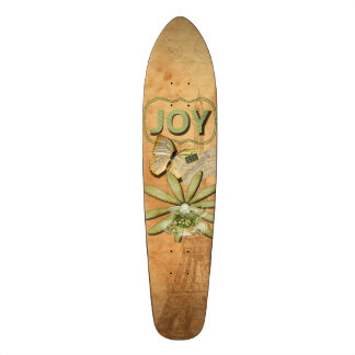 Joy Collage, Vintage Eiffel Tower and Butterfly Skate Decks