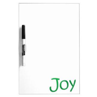 """Joy"" Dry Erase Board"