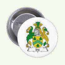 Joy Family Crest Button