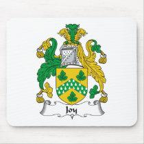 Joy Family Crest Mousepad