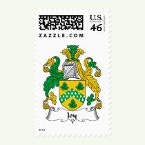 Joy Family Crest Stamps