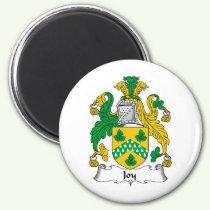 Joy Family Crest Magnet