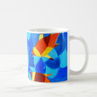 Joy Fish Abstract Coffee Mug