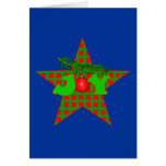 JOY for the Holidays on Apparel and Gifts Card