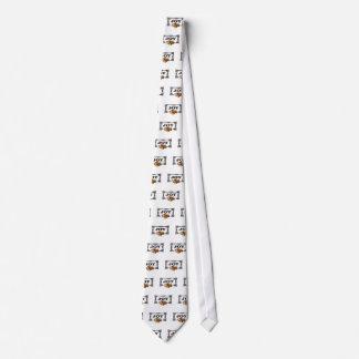 joy frames with flowers neck tie