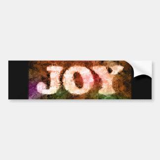 Joy from Hands - Bumper Sticker
