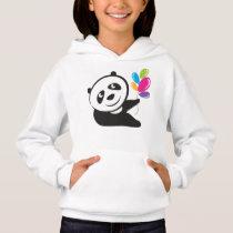 Joy full panda hoodie