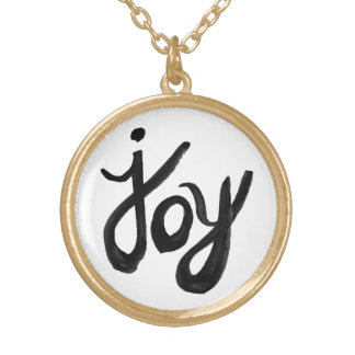 JOY GOLD PLATED NECKLACE
