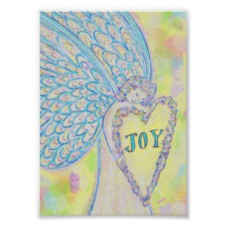 Joy Guardian Angel Poster Art Prints